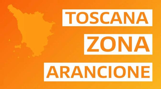 Toscana di nuovo zona Arancione (14-21 febbraio)